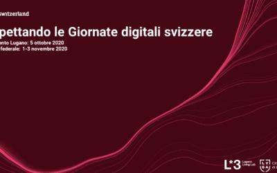 Lugano Living Lab: Swiss Digital Days – 1-3 novembre 2020